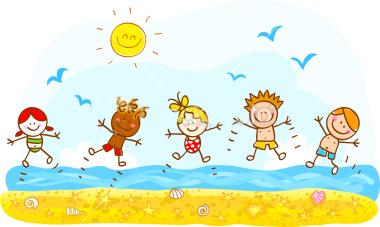 Znalezione obrazy dla zapytania wakacje obrazki dla dzieci